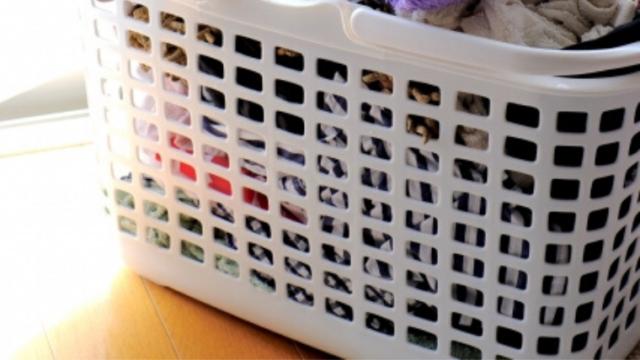 洗濯物の匂い 洗濯カゴ