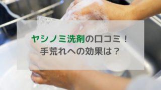 ヤシノミ洗剤 口コミ